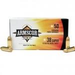 Armscor-USA-38-Super-Ammo-125-Grain-Full-Metal-Jacket