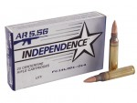 Federal-Independence-5.56x45mm-NATO-Ammo-55-Grain-M193-Full-Metal-Jacket-Boat-Tail