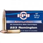 Prvi-Partizan-223-Remington-Ammo-55-Grain-Soft-Point
