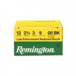 Remington-LE-Reduced-Recoil-12-Gauge-Ammo-2-3-4-00-Buckshot-9-Pellets