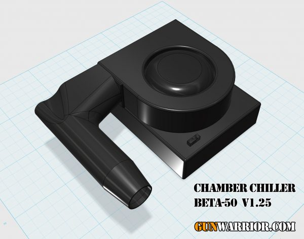 Chamber Chiller BETA-50 v1.25 Rifle Barrel Cooler Prototype Design