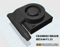 Chamber Chiller BETA-60 v1.25 Rifle Barrel Cooler Prototype Design