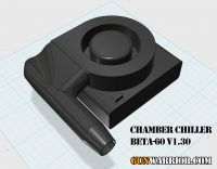Chamber Chiller Rifle Barrel Cooler BETA-60 v1.30 Prototype Design