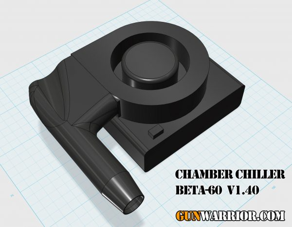 Chamber Chiller BETA-60 v1.40 Rifle Barrel Cooler Prototype Design
